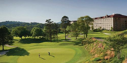 The Omni Grove Park Inn North Carolina golf packages